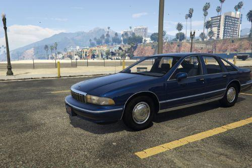 1993 Chevrolet Caprice [Add-On / Replace | LODS]