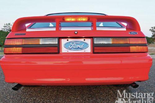 A9a118 1305 1993 ford mustang cobra r rear view