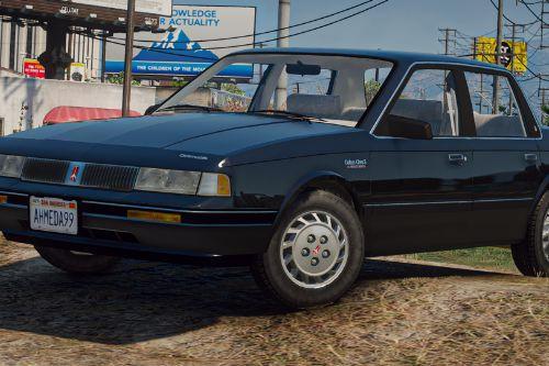 1993 Oldsmobile Cutlass Ciera [Replace]