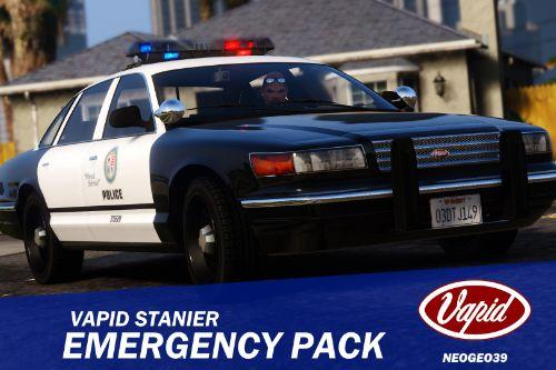 1993 Vapid Stanier Emergency Pack [Add-On]
