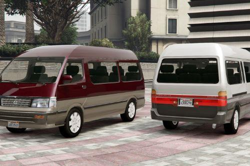 1994 Toyota HiAce Super Custom [Add-On / Replace | Template]