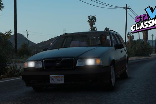 1994 Volvo 850 T5 Turbo US-Spec [Add-On | Extras | LODs]