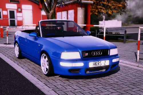 1995 Audi 80 Cabriolet [Add-On / Replace | Extras | Tuning]