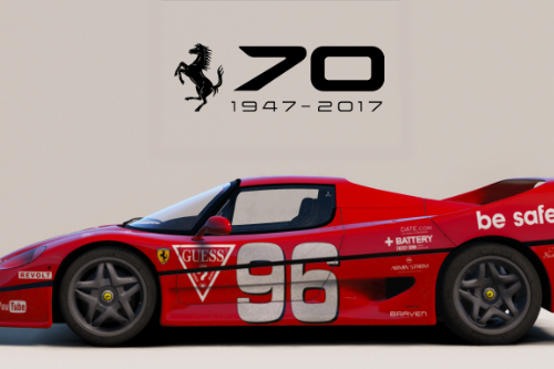 1995 Ferrari F50 [Add-On | Tuning | Template]