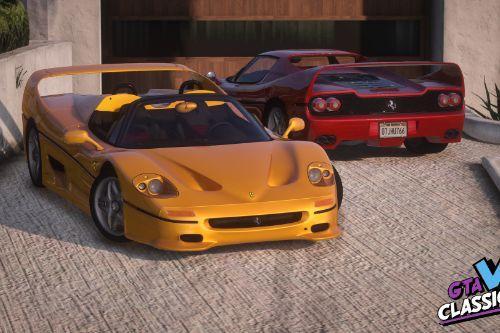 1995 Ferrari F50 (US-Spec) [Add-On | LODs | Template]