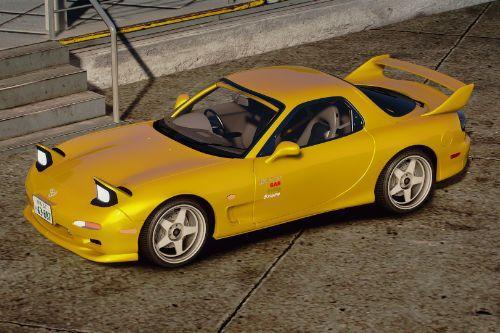 1995 Mazda ɛ̃fini RX-7 Type R (FD3S) Initial D 1st Stage Edition [Add-On | Tuning | RHD]