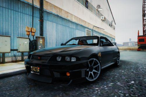 1995 Nissan Skyline R33 [Add-On | Tuning | Template]
