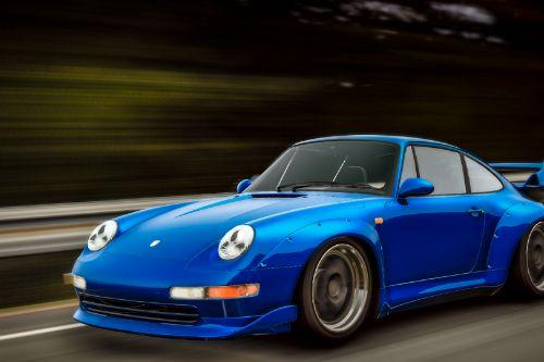 1995 Porsche 911 GT2 (993) + RWB [Add-On | LODS | Template]