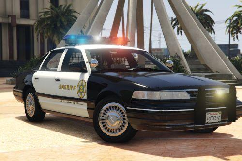 1997 Ford Crown Victoria P71- Los Angeles County Sheriff's Department
