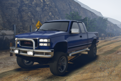 1997 GMC Sierra 1500 Custom [Add-On | Extras | Unlocked]