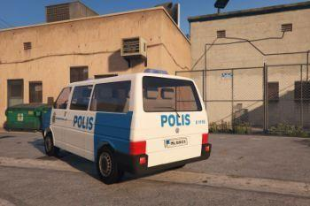 "1997 VW T4 Swedish Police ""Paintjob"""