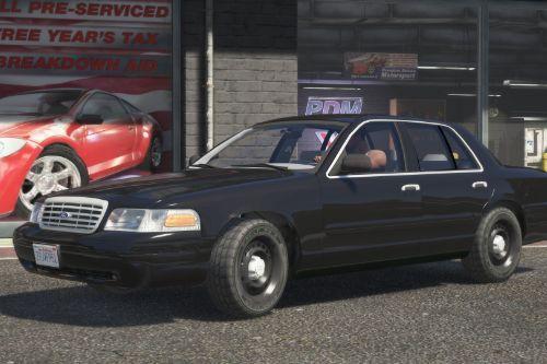 1998 Ford Crown Victoria Civilian Sedan (Replace/Add-On)