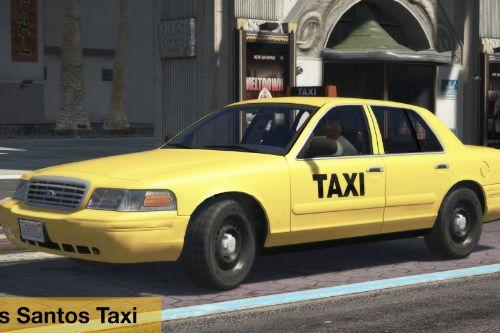 1998 Ford Crown Victoria Taxi+4K Livery LS SF LV VC LC DC
