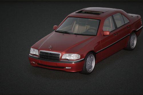 1998 Mercedes-Benz C 200 Elegance (W202) [Add-On / Replace | Extras | Tuning]
