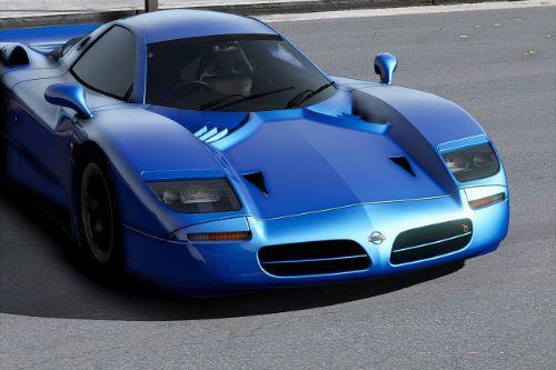 1998 Nissan R390 Road Car [Add-On | Extras]
