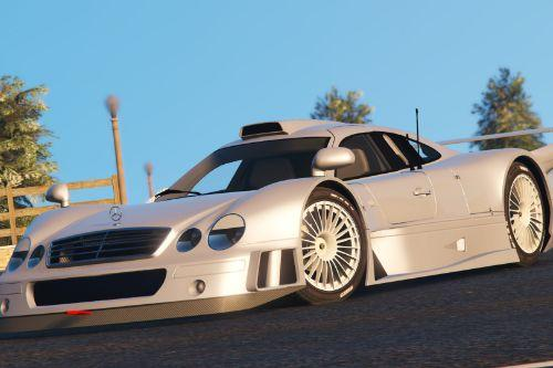 1999 AMG Mercedes-Benz CLK GTR Coupe
