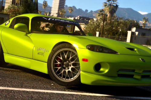 1999 Dodge Viper GTS ACR [Add-On | Replace | Tuning | Template]