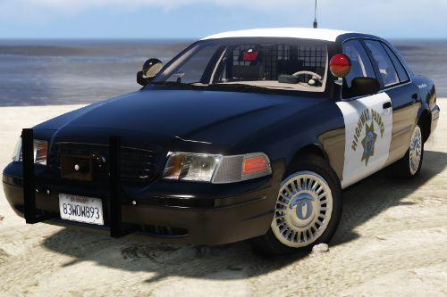 1999 Ford Crown Victoria P71- California Highway Patrol