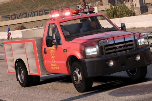 1999 Ford F450 - Squad 51 Inspired