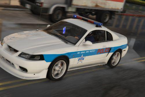 1999 Ford Mustang Cruiser ~ Midtown mandess chicago police [ Replace | Non-ELS ]
