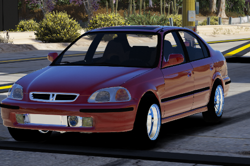 1997 Honda Civic Sedan Drag Version |Five-M|Replace|