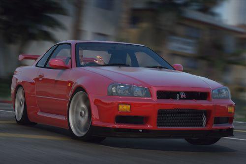 1999 Nissan Skyline GT-R (BNR34) [Add-On | Tuning| Animated | Liveries]