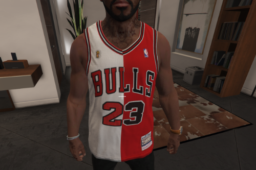 2 Half Michael Jordan Jersey