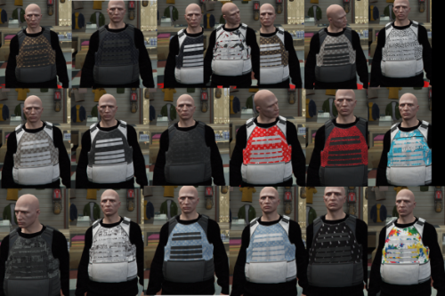 20 Bulletproof vest Pack
