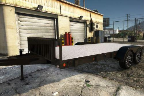 20 Foot Open Car Trailer [Add-On / FiveM | Z3D]