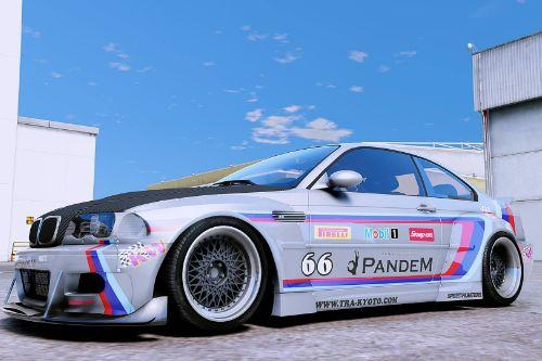 2000 BMW M3 E46 Pandem Rocket Bunny [Add-On / Replace]