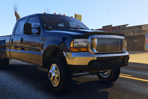 2000 Ford F-350 Super Duty Dually [Add-On | Tuning | LODs | Template | Unlocked]