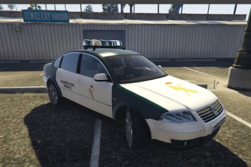 2000 Volkswagen Passat Guardia Civil Tráfico.