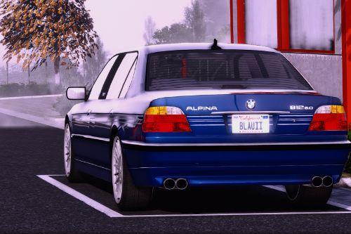 2001 BMW Alpina B12 6.0 Lang (E38/FL)(Add-On/Replace/Extras)