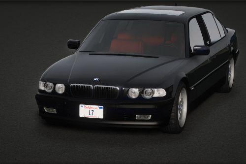 2001 BMW L7 Individual (E38) [Add-On | Extras | Tuning]