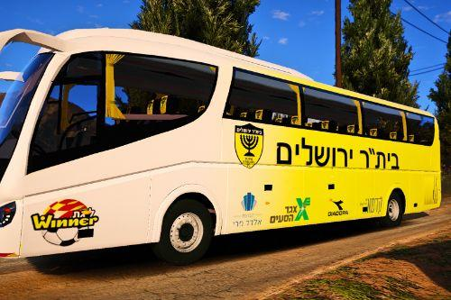 2001 Scania Irizar | israeli football bus [💛La-Familia🖤] ביתר ירושלים {beitar jerusalem}