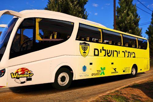 2001 Scania Irizar | israeli football bus [💛La-Familia🖤] ביתר ירושלים {beitar jerusalem}