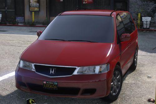 2002 Honda Odyssey EXL
