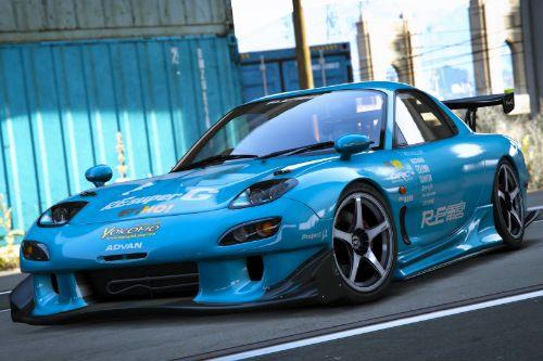 Mazda RX7 Spirit R (FD3S) [Add-On | Tuning Re-Amemiya | Pandem | Eurou | Template]