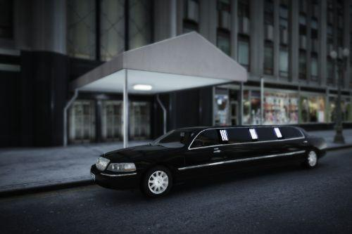 2003-2010 Lincoln Town Car Limousine [Add-On / Replace | LODs]