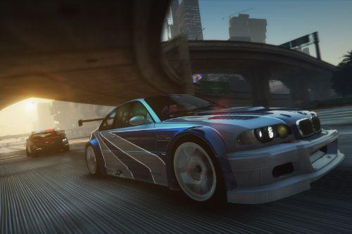 2003 BMW M3 GTR Most Wanted Edition [Add-On | Template]