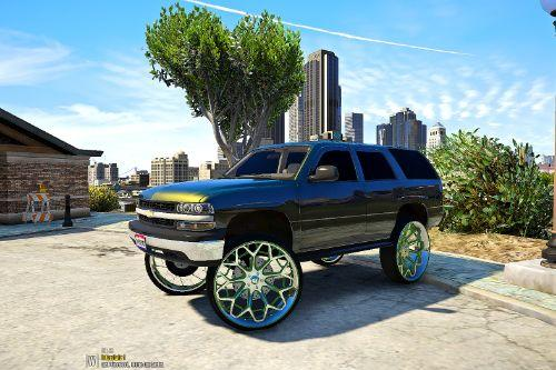 2003 Chevy Tahoe [Replace] Regular and Donk versions