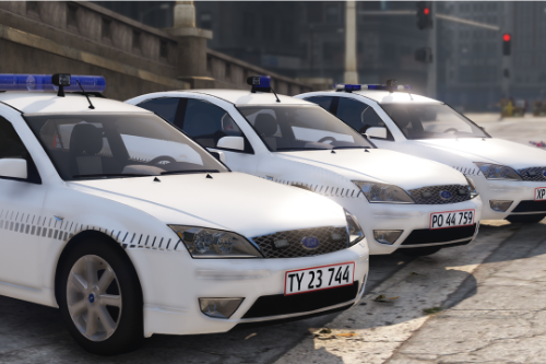 2003 Ford Mondeo - Danish Police - Mini Pack [REPLACE/OIV]