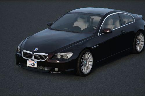 2004 BMW 645Ci Individual (E63/PFL) [Add-On / Replace | Extras | Tuning]