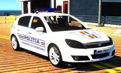 2004 Opel Astra Politia Romana [ELS]