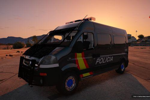 2004 Opel Movano Policia Nacional Española CNP UIP (Spain police) [Semi-els/Replace]