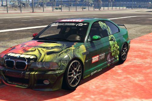 2005 BMW M3 E46 liveries