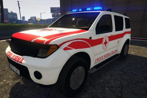 2005 Nissan Pathfinder Croce Rossa Italiana - CRI [ELS]