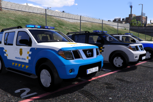 2005 Nissan Pathfinder Policia Local Canaria y Unidades Especiales Policia Local Canaria (PLC) Canary Islands Police [Replace-ELS]