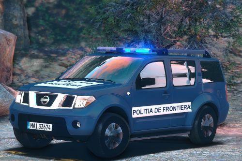 2005 Nissan Pathfinder Politia de Frontiera Romania