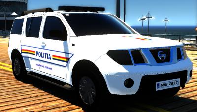 2005 Nissan Pathfinder Politia Romana [REPLACE] [ELS]